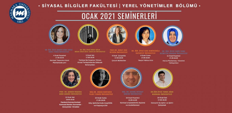 Ocak 2021 Seminerleri